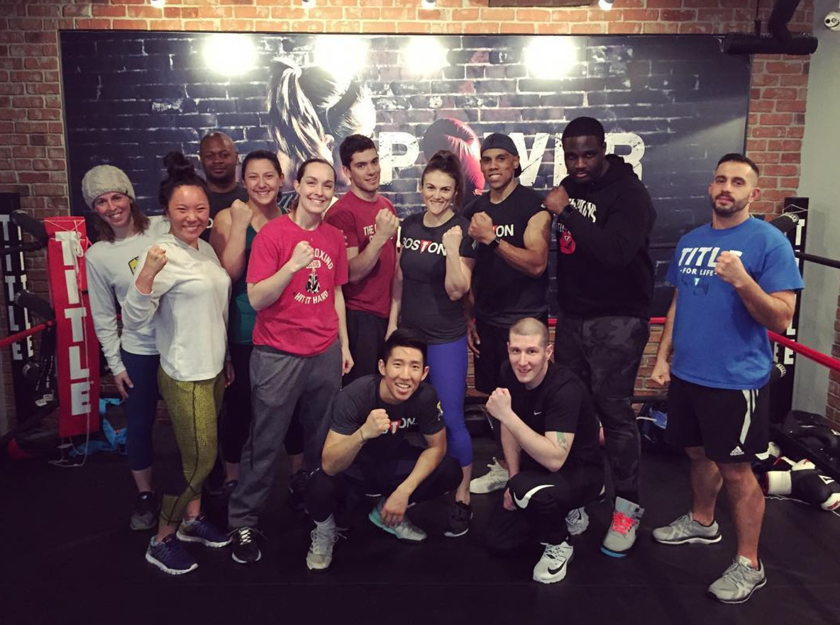 Photo by TITLE Boxing Club Boston
