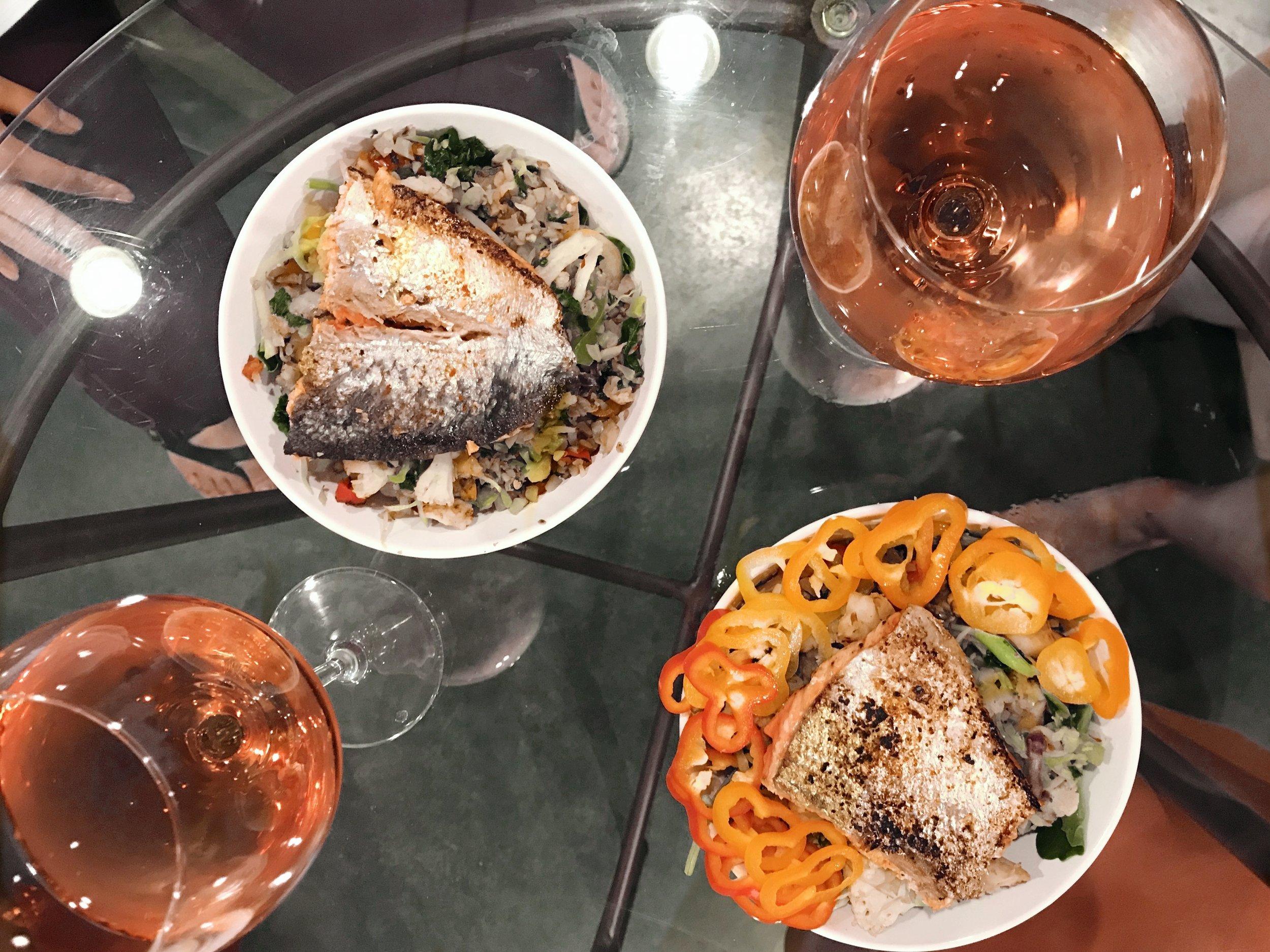 homemade dinner airbnb