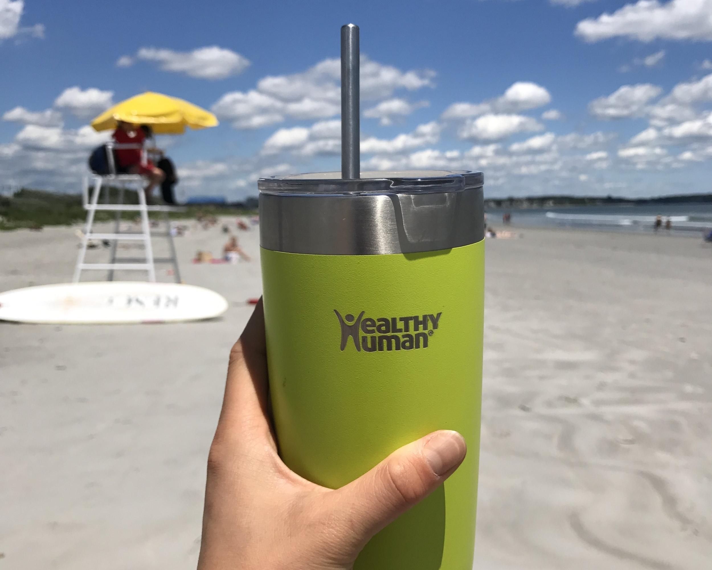 healthy human beach