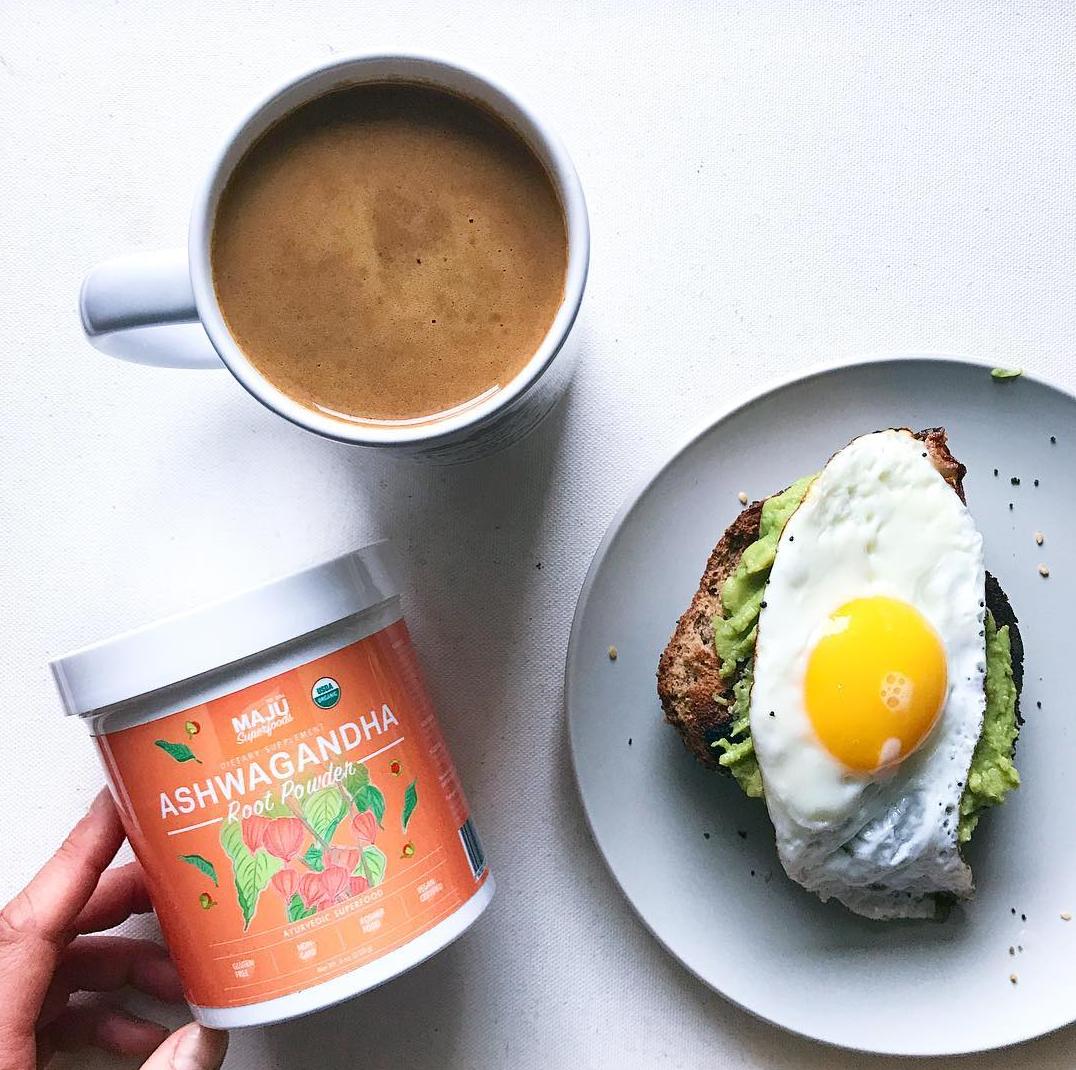bulletproof coffee with breakfast