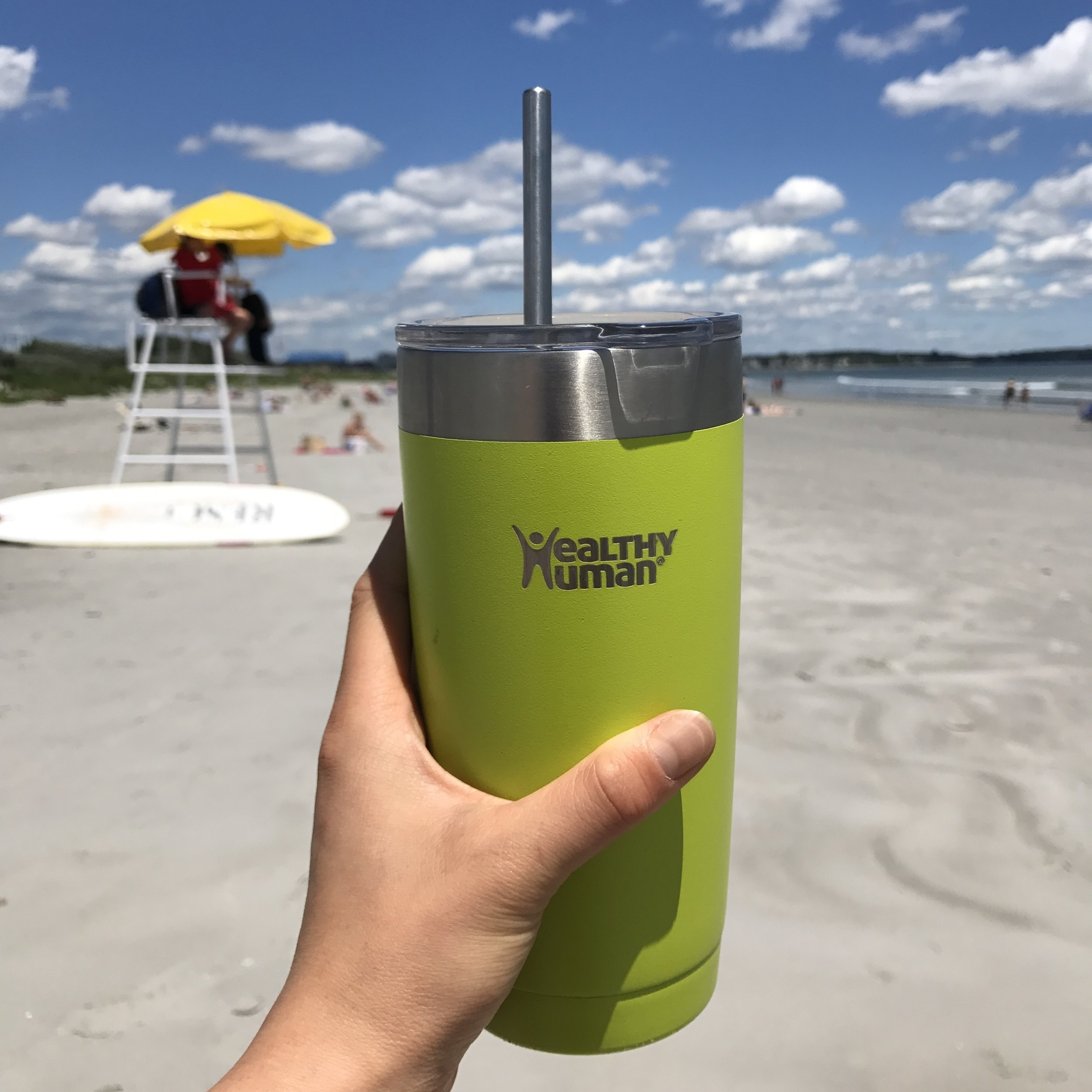 Healthy Human     Healthy Human tumblers   and   water bottles   keep your water (or smoothie, coffee, etc.) warm or hot for a long time.   10% off your order:  A  PALEO10