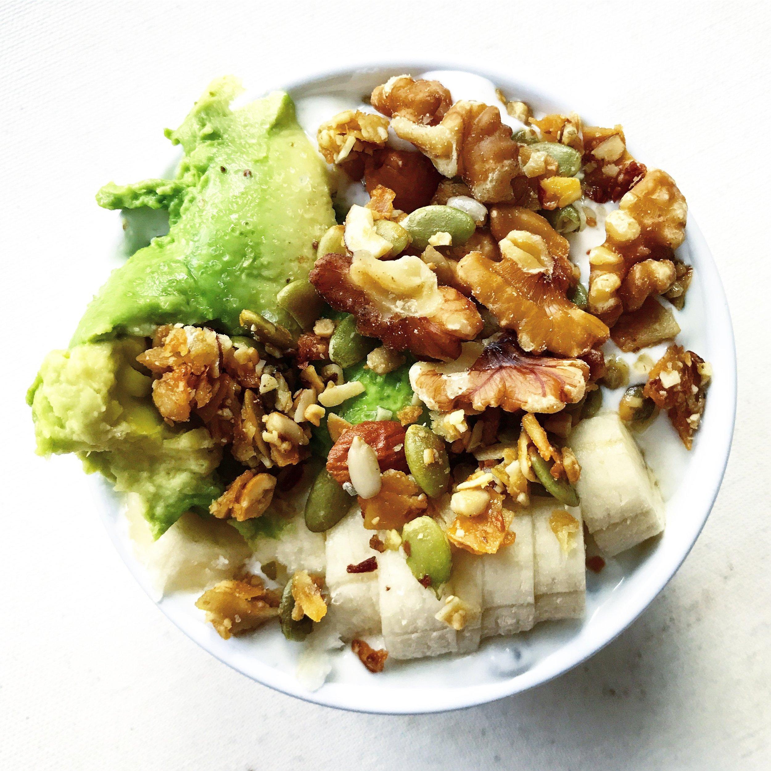 mccabe's granola yogurt bowl