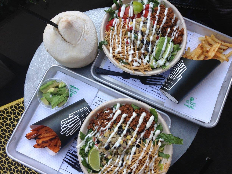Thanksgiving 2015 —byCHLOE Quinoa Taco Bowls in NYC