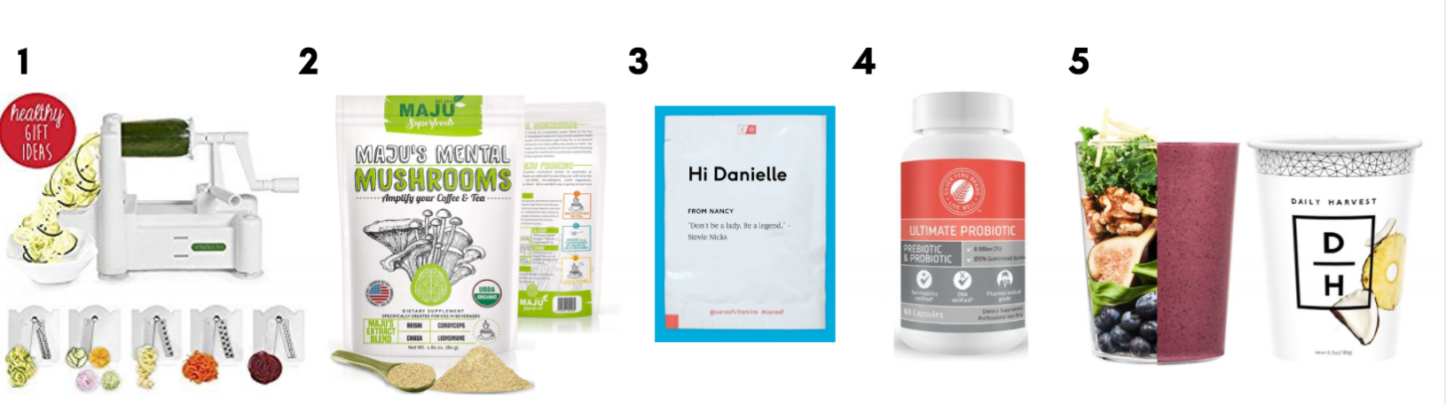 Gift Guide — For the Health-Focused