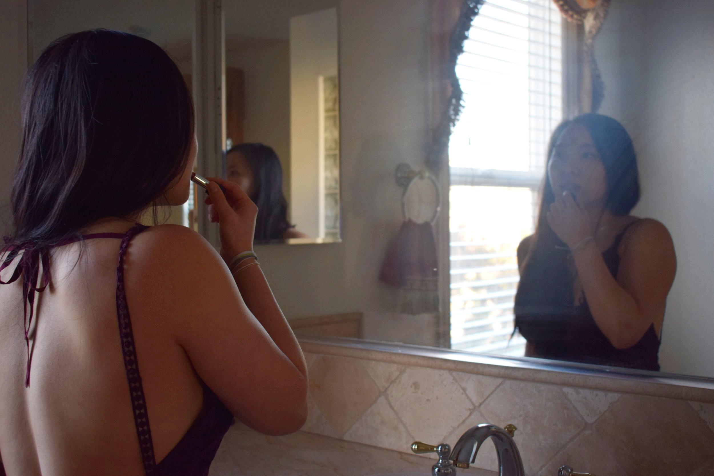 Photo by Danielle Chen // Dress:  Tobi  // Lipstick:  MakeUpForever