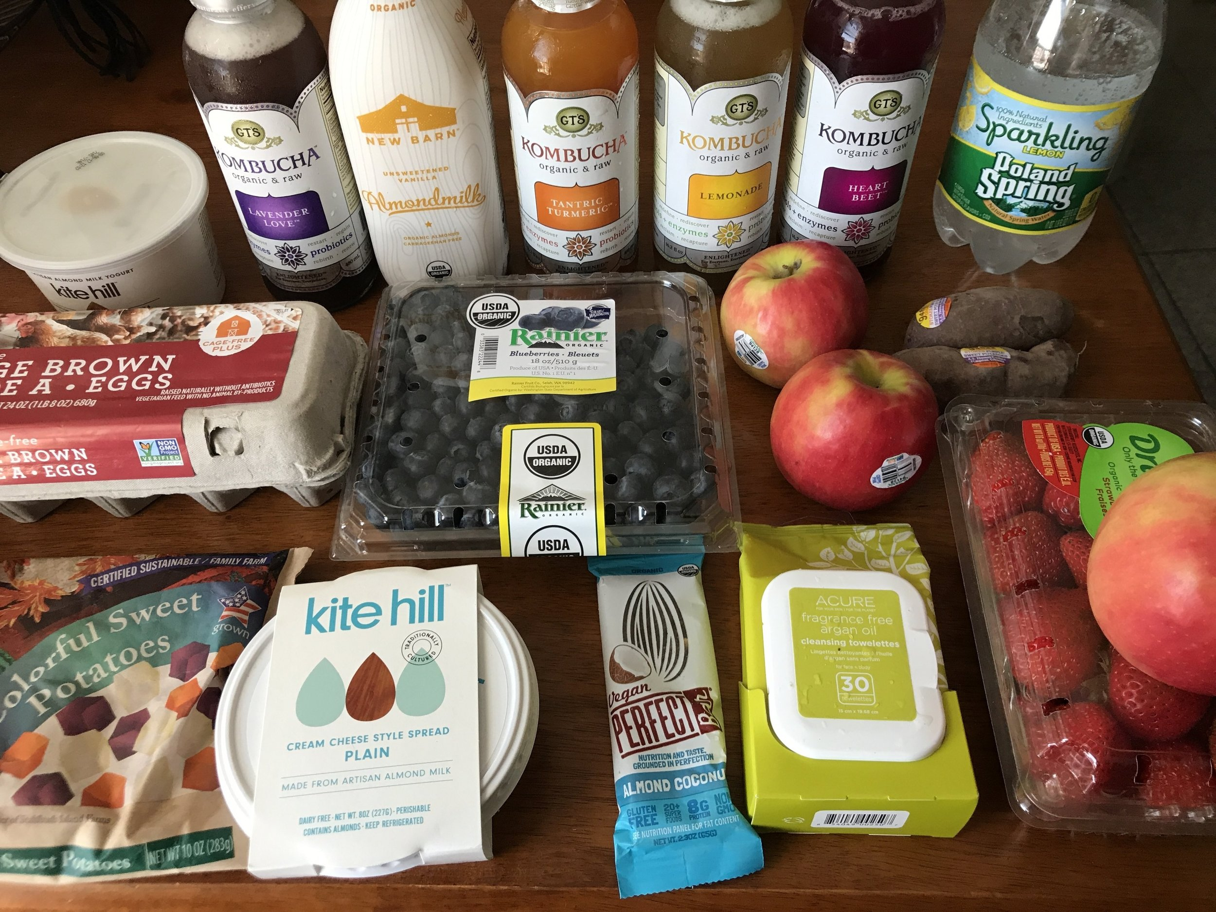 Whole Foods haul — everything here was on sale!