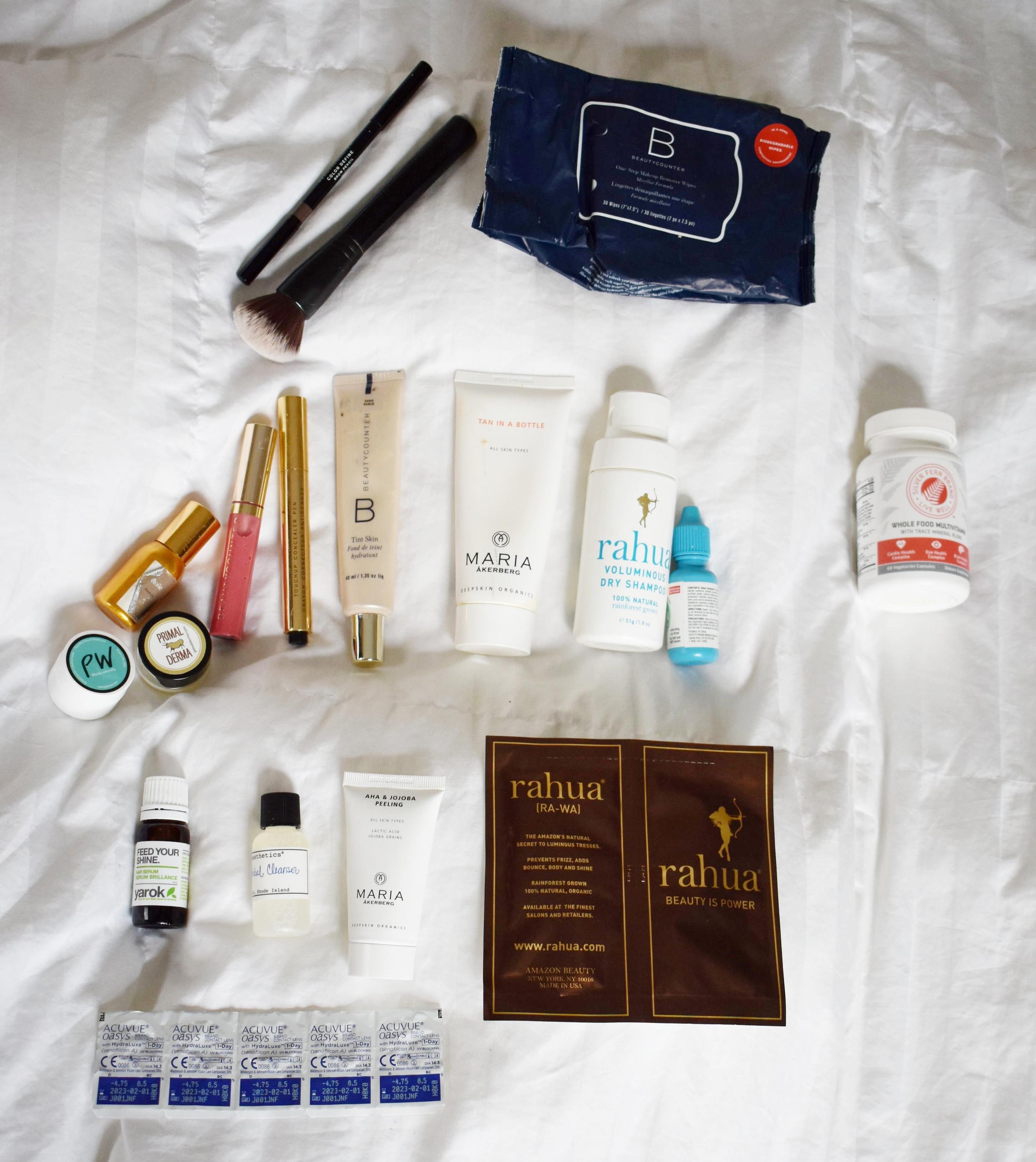 Beauty Packing List