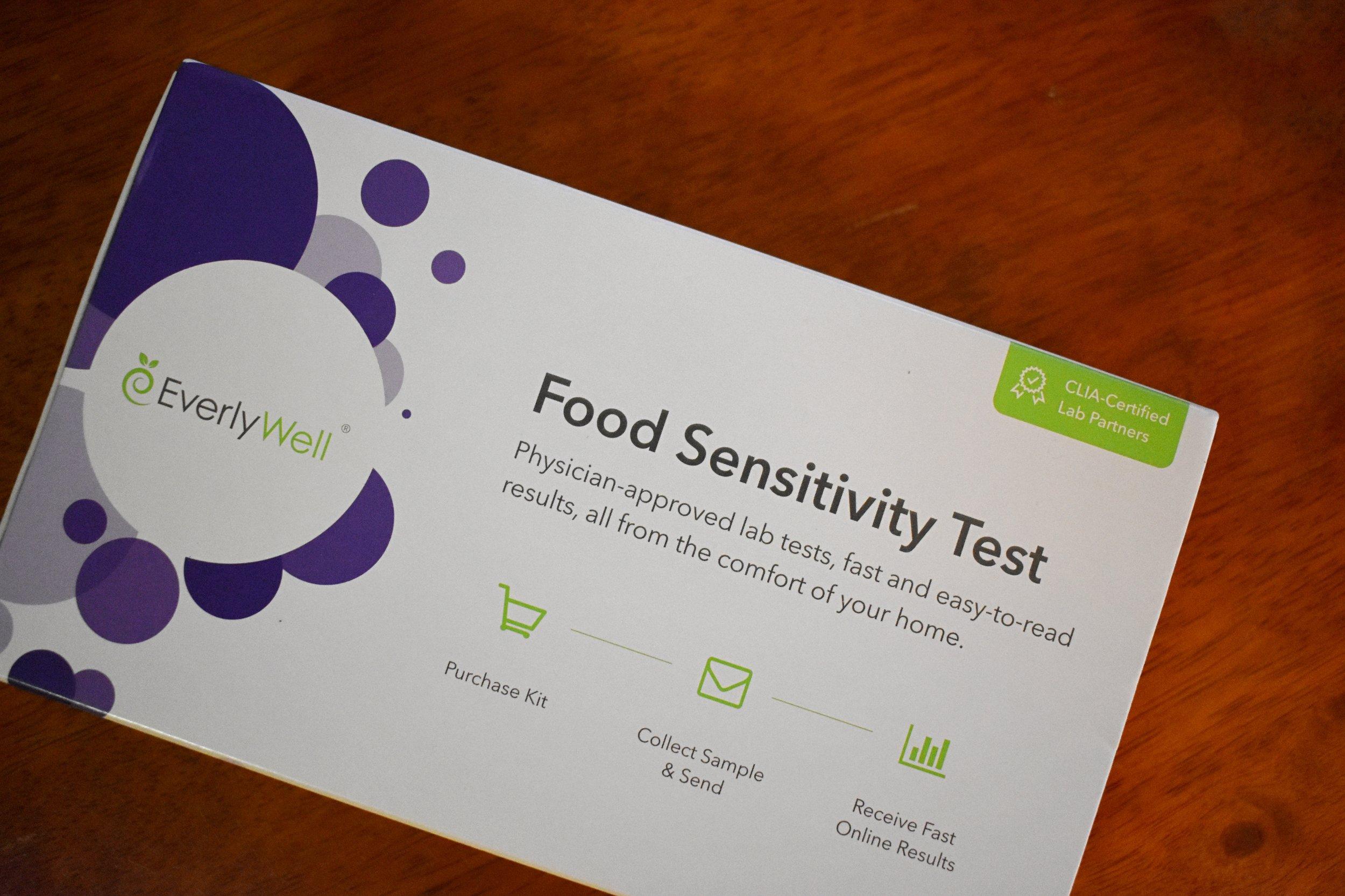 Everly Well Food Sensitivity Test