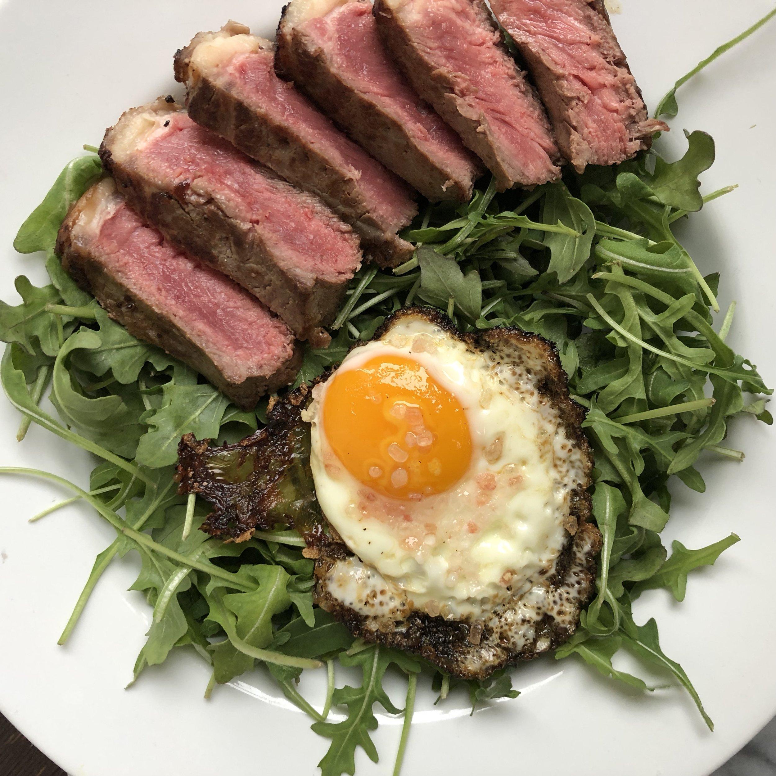 Steak & Eggs Breakfast Salad