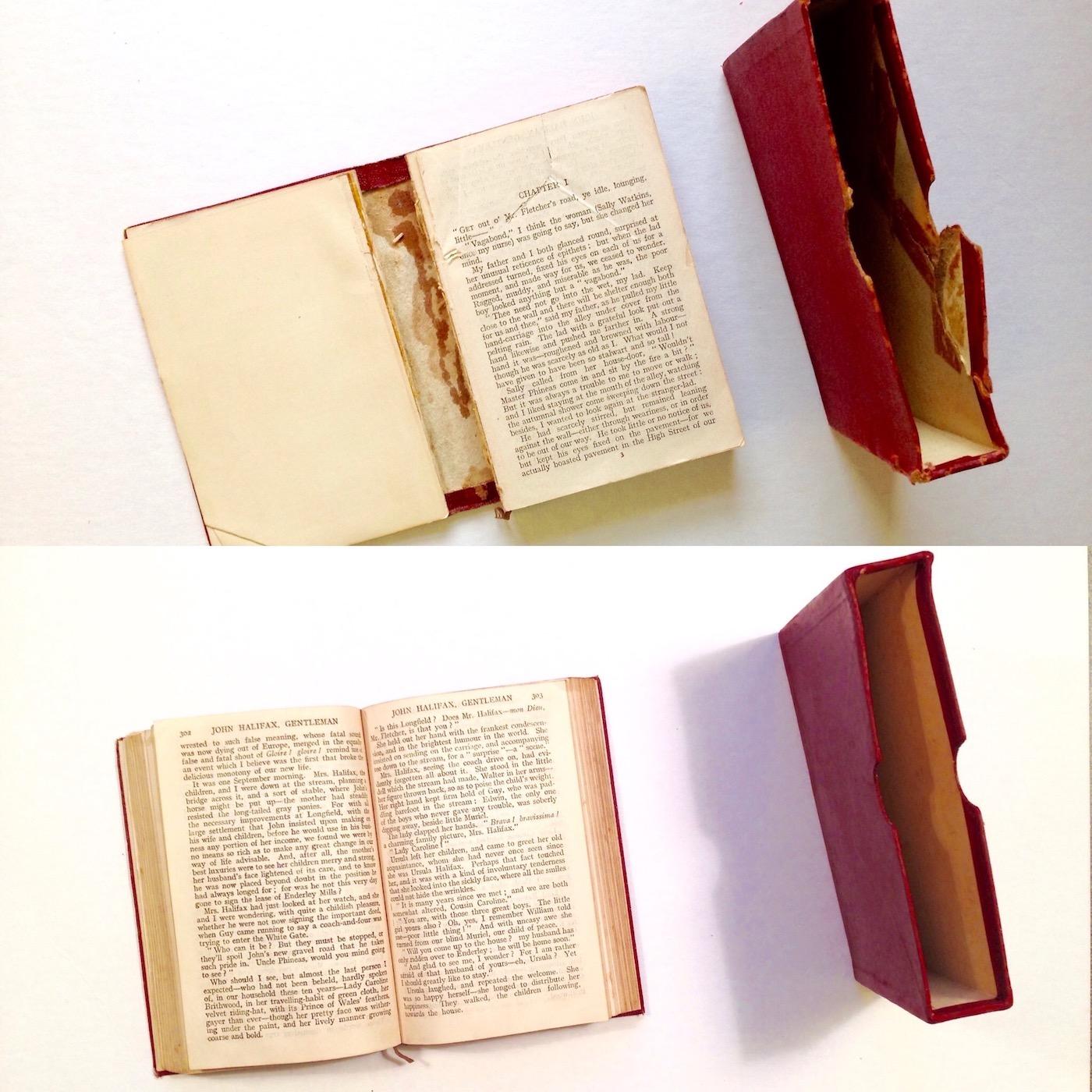 Restoration of a novel