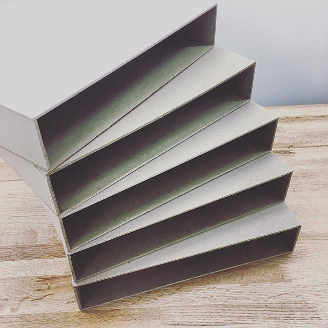 Slipcases coming along. . . #ovenbirdbindery #bookbinding  #bookbinder #books #booksofinstagram #bookstagram #bookish #booklover #handmade #handmadebooks #rarebooks  #thingsinstacks
