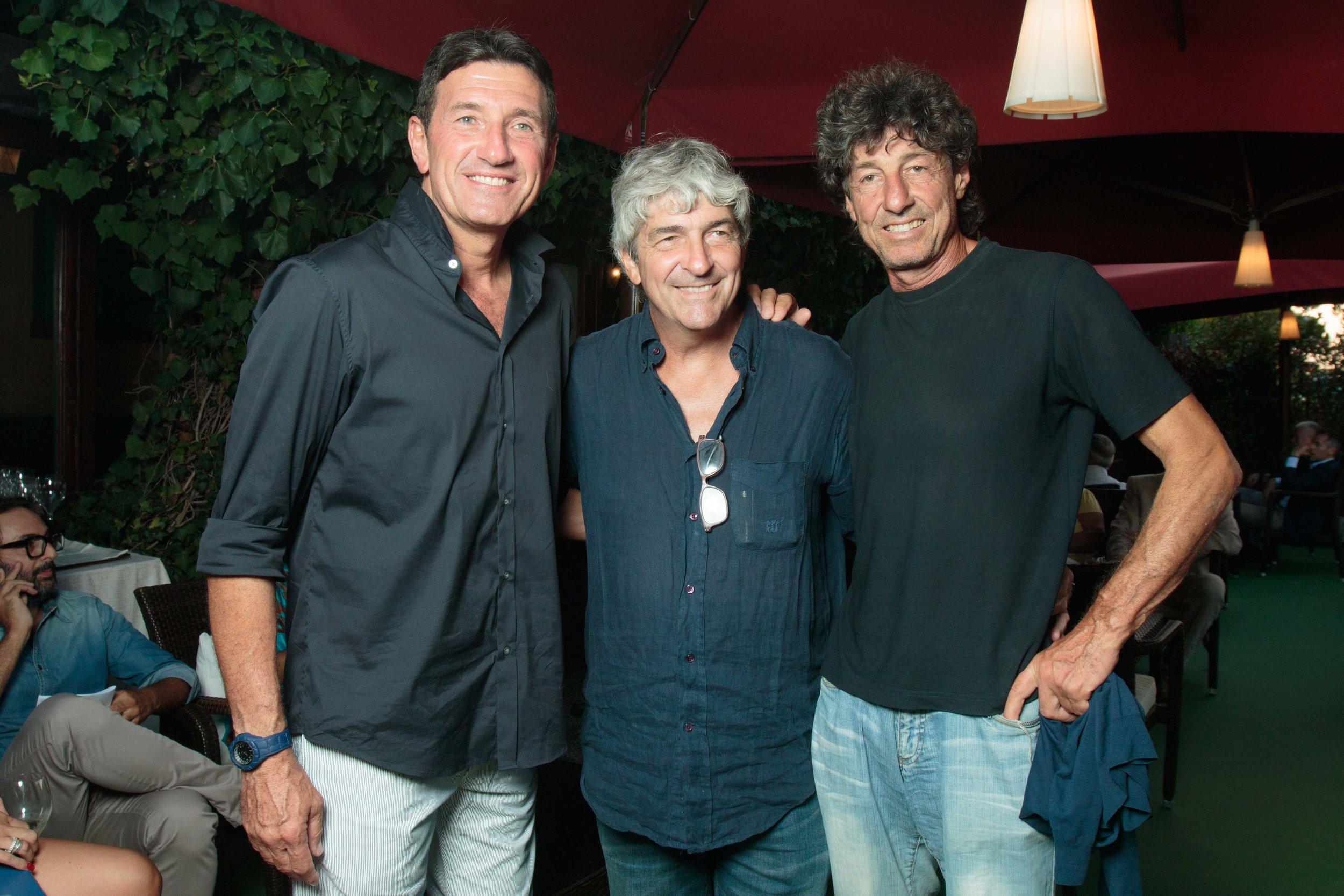 Giovanni Galli, Paolo Rossi, Nicola Zanone