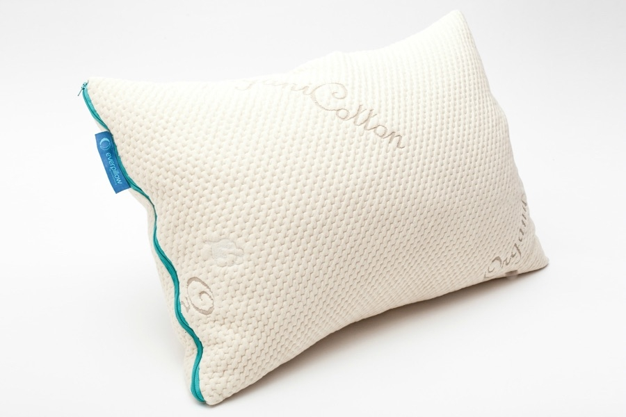 """Everpillow - The Original   The queen Everpillow is the ideal size to keep a balanced amount of fill throughout the pillow as you sleep. If you change positions in the night, this pillow is for you! Choose a fill Kapok, Latex, or our favorite: a blend of both.   Save 10% with code """"MHW"""" at checkout."""