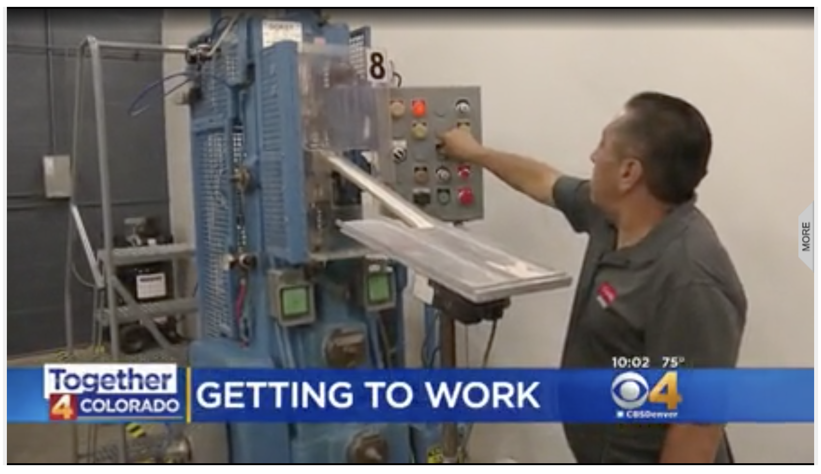 Career Program Helps People Get Another Chance At Life  - CBS feature on our partnership with  CoorsTek  and  Activate Workforce Solutions  from August 15, 2018.