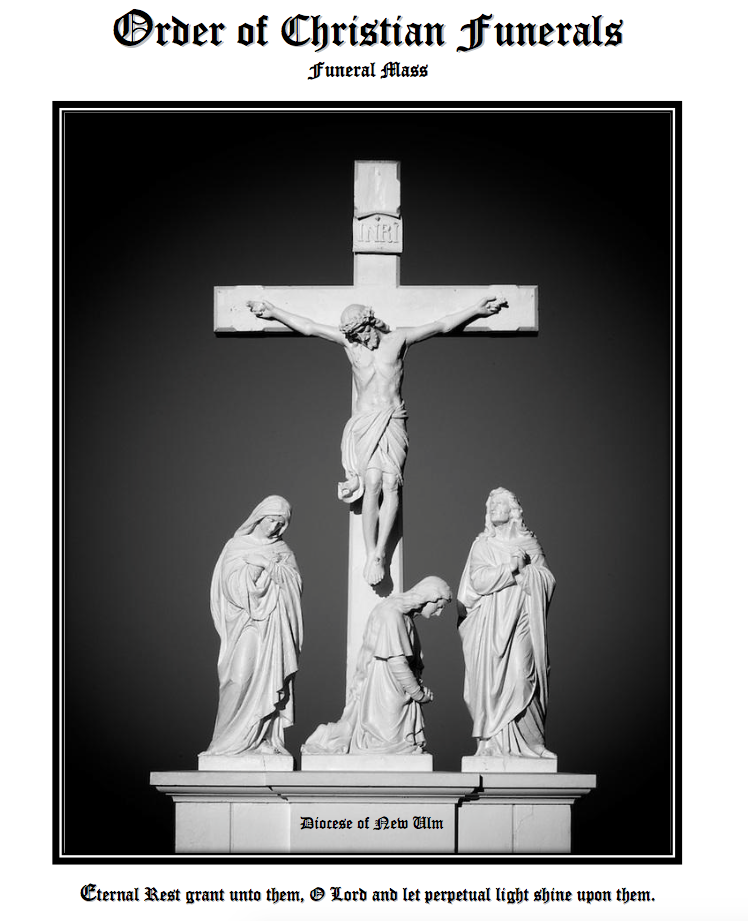 Funeral Liturgy Guide - PDF Printable Pew Resource