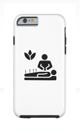 acupuncture phone case icon