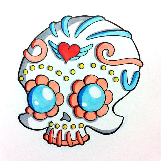 sugar-skull-dia-de-muertos-iamo-sketch