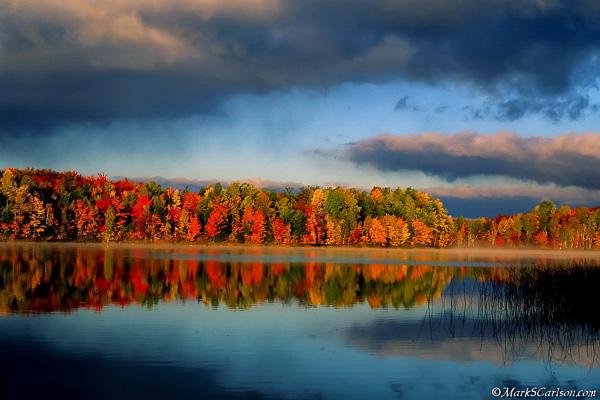 Moccasin Lake, autumn; ©markscarlson.com