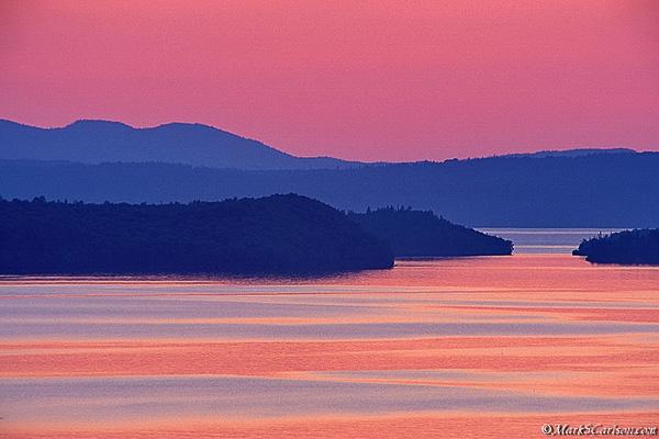 Nipigon Bay, twilight; ©markscarlson.com