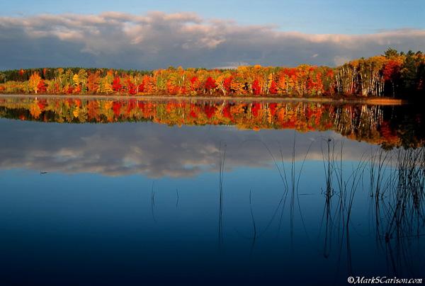 Thorton Lake, autumn; ©markscarlson.com