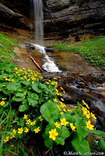 Munising-Falls-spring
