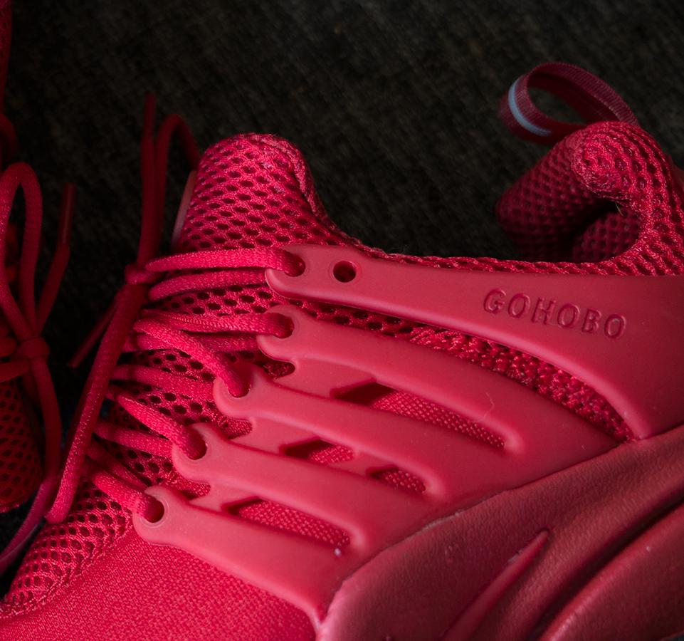 Hobo Life Nike Presto Red October OG Closeup