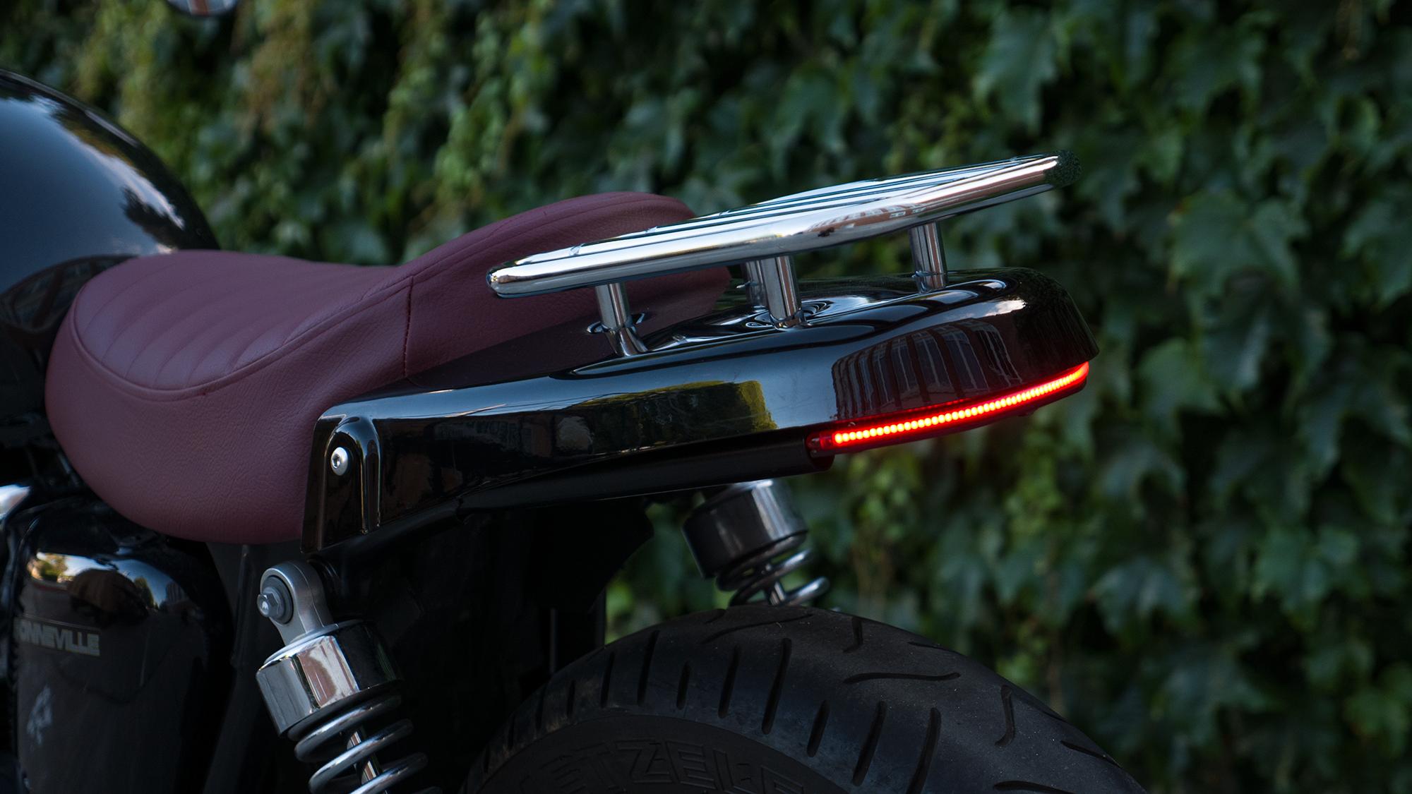 Hobo Life Hoang M Nguyen Bonneville Triumph Slimline Motobox taillight kit