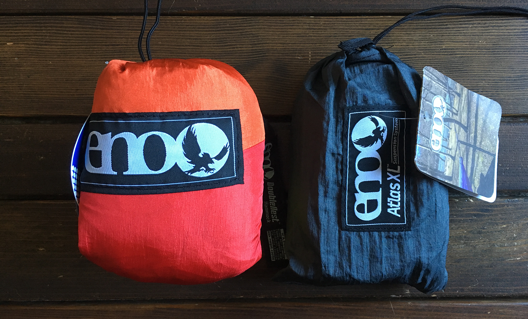 The Eno Sunshine Double Nest and Eno Atlas XL - product review by HoBo.Life