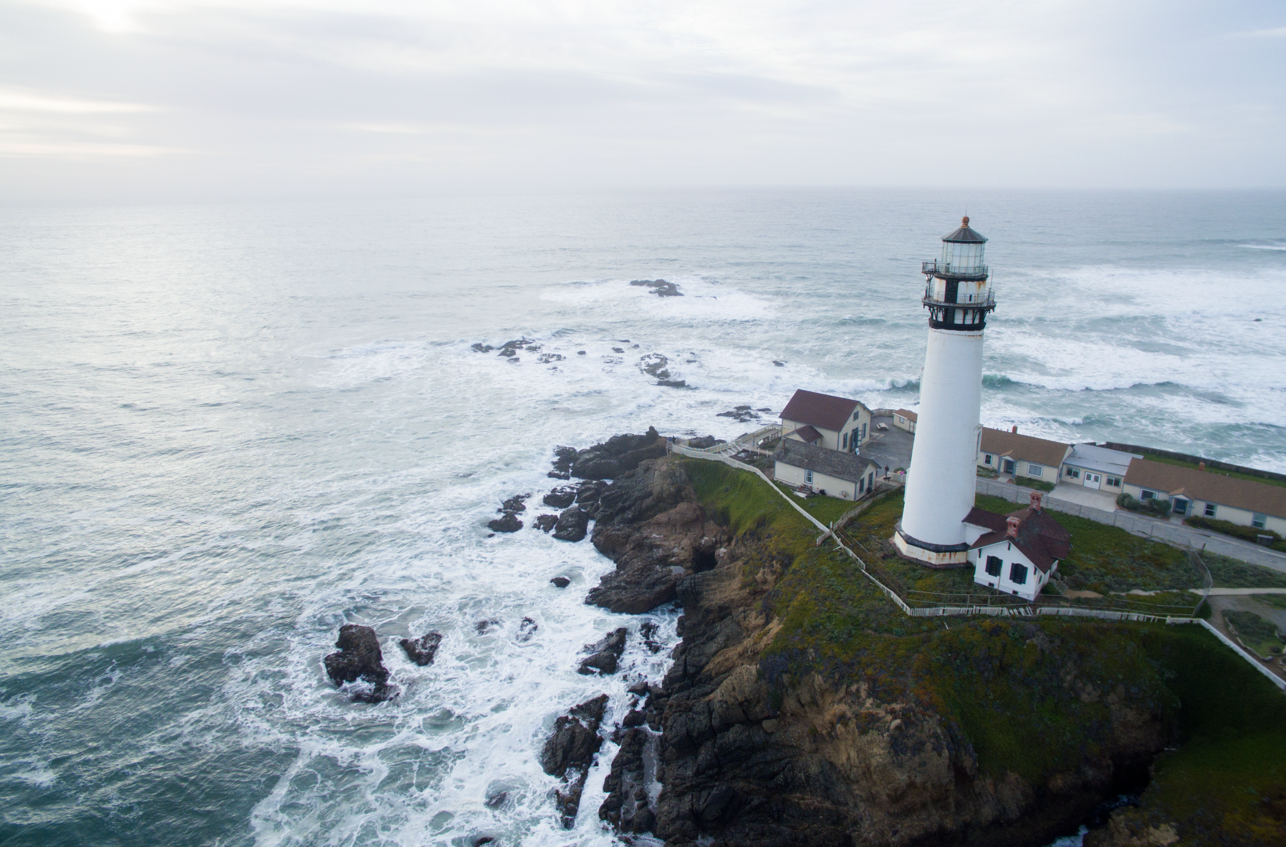 Photo taken from the west side of Pigeon Point Light House. Copyright Hoang M Nguyen - Hobo.Life