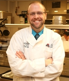 Chef Drew Patterson, CEC. CCA   Culinary Director, The Ohio State University Wexner Medical Center
