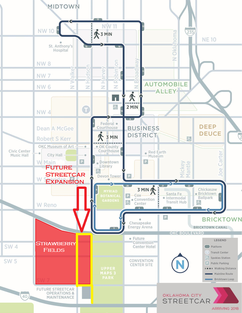 Streetcar with new route.png