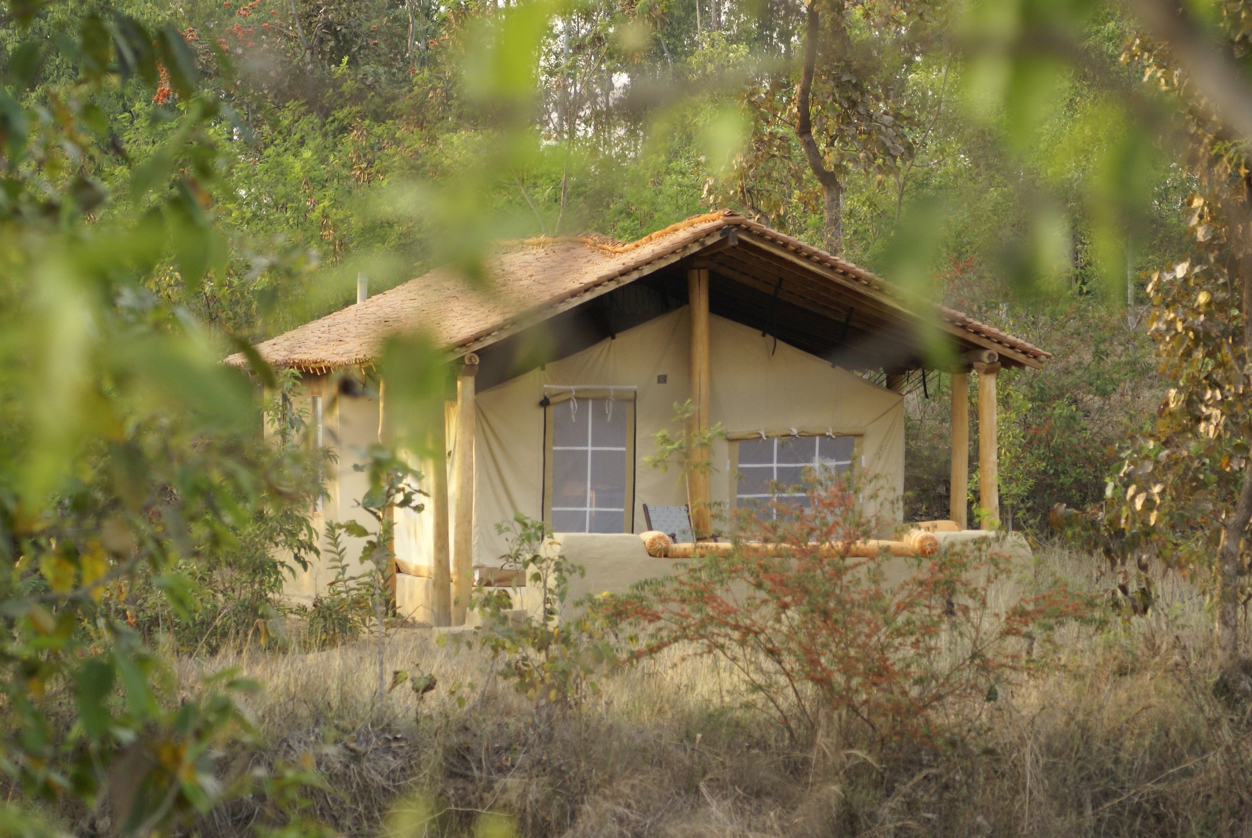 """A real tented camp experience"""