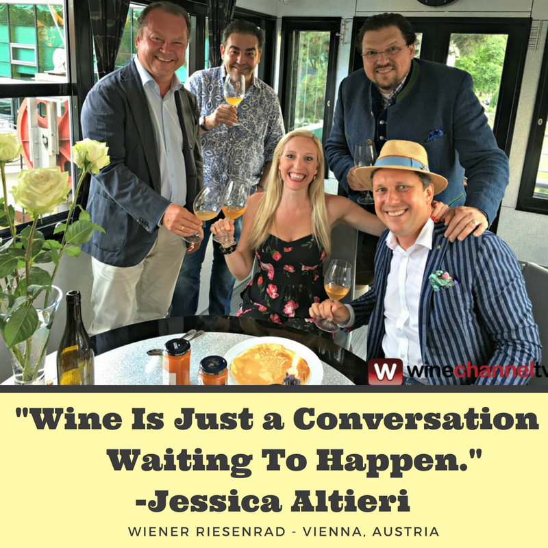 Jessica Altieri - Wine Expert Wine Channel TV Media