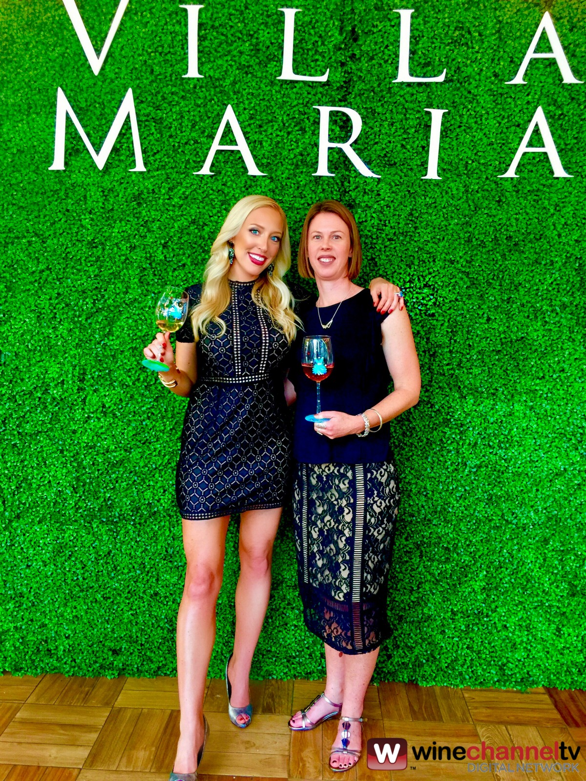 """Watch Wine Channel TV CEO  Jessica Altieri and  Villa Maria Winemaker Helen Morrison at the Open Another World ™ event in Chicago. Jessica and Helen talk about the newest addition to the award winning wines of Villa Maria – Bubbly Sauvignon Blanc.  Villa Maria was formed back in 1961 by Sir George Fistonich on 1 acre of land leased from his father and is still managed and owned by Sir George today. He has grown it from 1 brand to 9 key brands, 120 products across 60 markets. Key markets are USA, UK, New Zealand, Australia, Canada, Europe and Asia.  From the Villa Maria Open Another World™ press release:  """"The campaign will kick off with a tour from Los Angeles to Miami with events taking place Jun. 7 through Aug. 4 in various cities. In keeping with the brand's history of marching to the beat of their own drum—for example, Villa Maria was the first major New Zealand winery to convert entirely to screwcap closures in 2001—the tour won't just be a typical wine tasting. The winery has retained a troupe of improvisational actors to tell the story of Villa Maria and founder Sir George Fistonich's rise from a one man operation to a global brand in just five decades, overcoming some pretty incredible odds along the way.  The theatrical performance, """"Of Grapes & Grit: The Not Completely Apocryphal Story of Sir George Fistonich, Villa Maria and the New Zealand Wine Industry"""" will highlight the many milestones in the winery's history and its contributions to the New Zealand wine industry overall, for which Sir George received a knighthood in 2009. The performance, which will include audience participation, will creatively explore key events such as when the winery went into receivership during the mid-1980s due to price wars and the actions taken by Sir George and his employees to save the winery; to the unique and sometimes quirky personalities behind the wine, including a winemaker who serenades Villa Maria's vines.  The Villa Maria story is one of passion. Each wine is cra"""