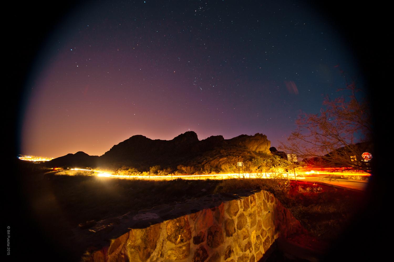 Gates Pass, Night