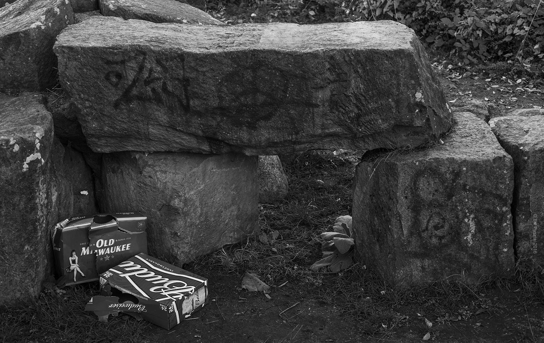 Stoned Henge. Mosaic Creek Park, Vancouver, BC.