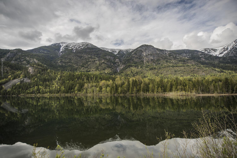Summit Lake, near Nakusp, BC, Canada.
