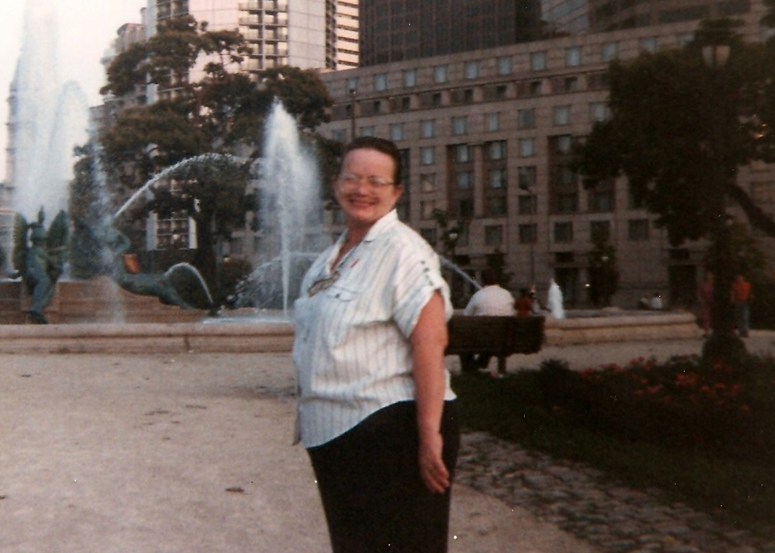 Dorothy McCloskey, Center City Philadelphia, Early 1990's