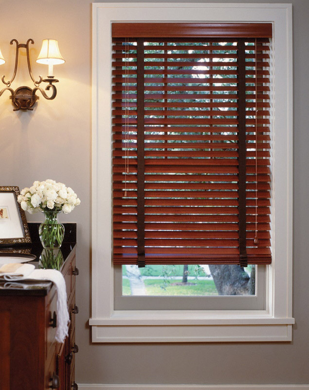 Faux Wood Blinds National Window