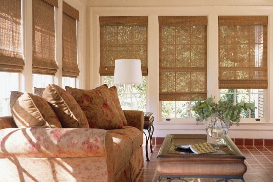 Woven Wood Roman