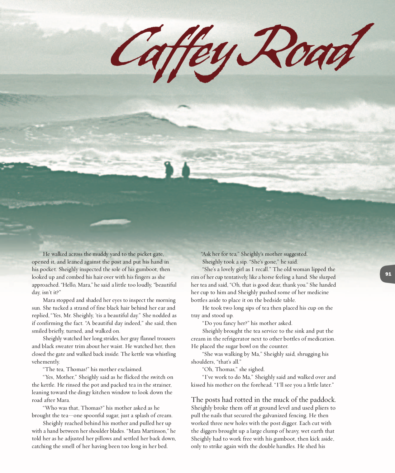 Gaffey Road (The Surfers Journal)  Click here to read.
