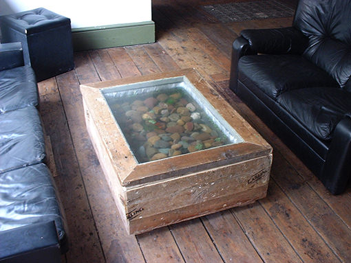 fish tank-table