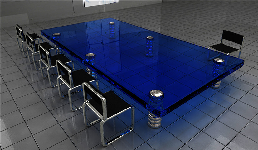 deep-blue-board-room-table