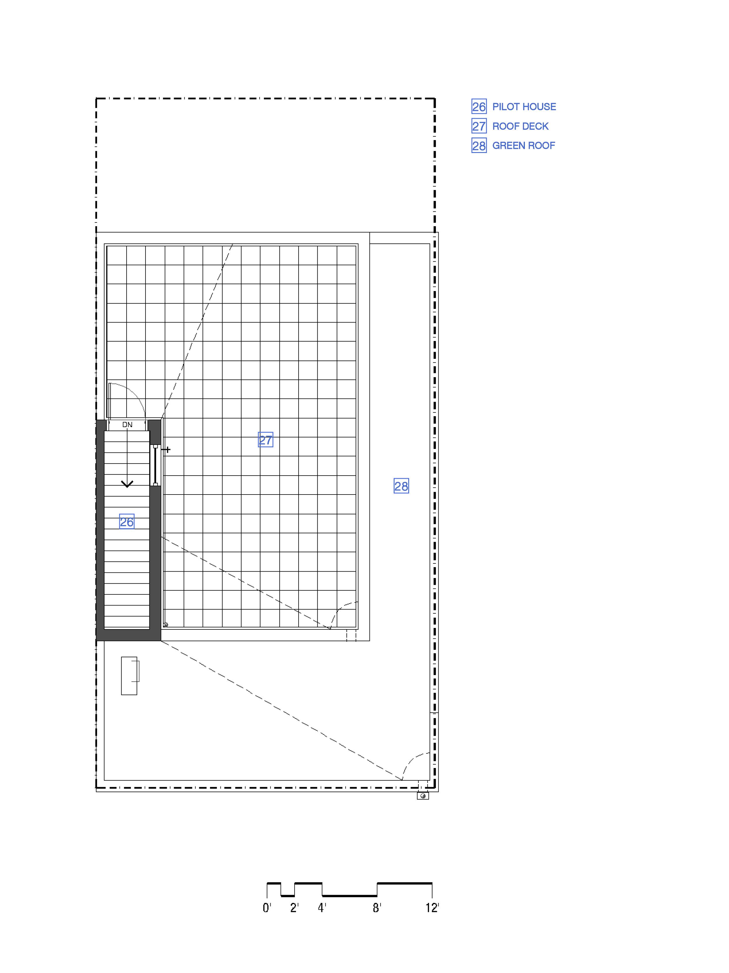 Roof Deck - Unit 'B'