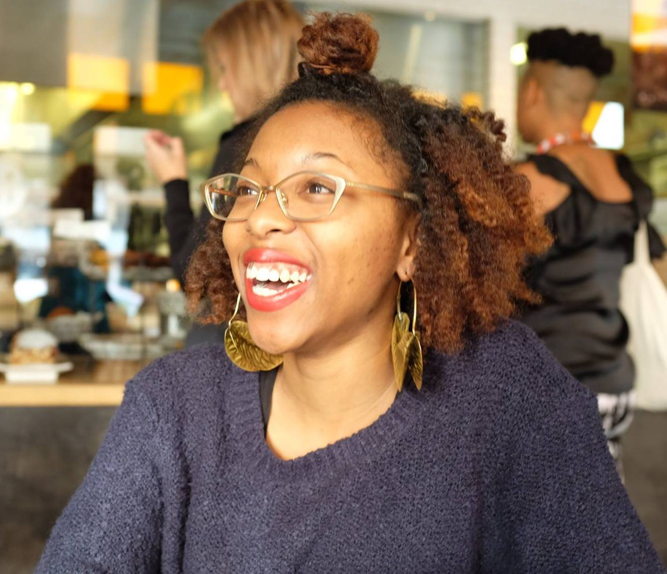 La Keisha Leek, curator and compiler of  How to Make A Hood