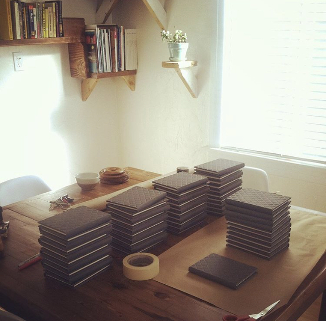First edition of  How to Make A Hood  in Los Angeles before mailing to Chicago.