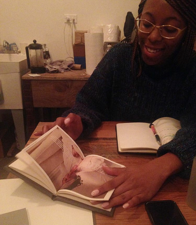 La Keisha Leek discussing the second edition of  How to Make A Hood
