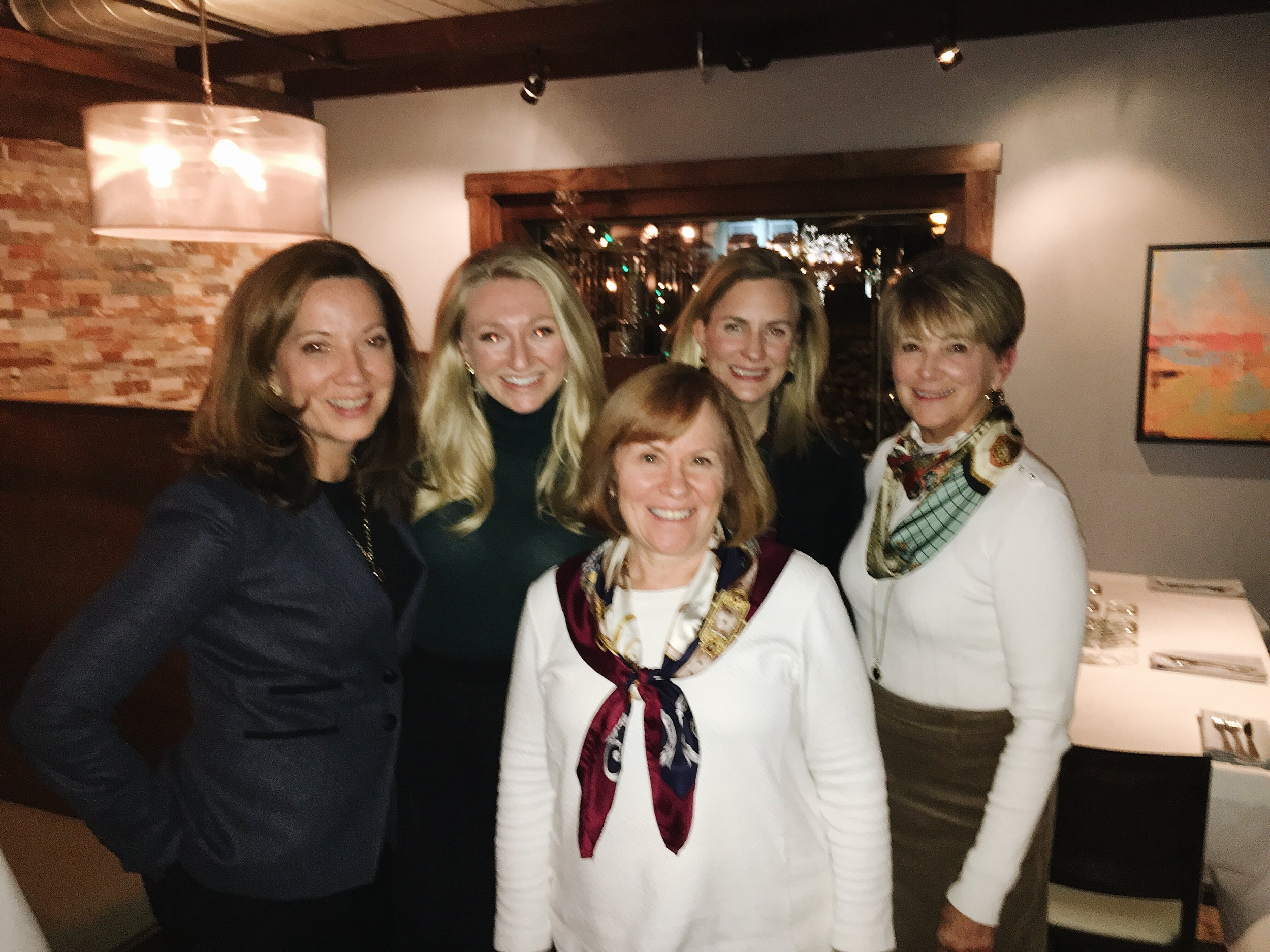 The Jeannie Balsam Interiors team on our Geneva getaway!
