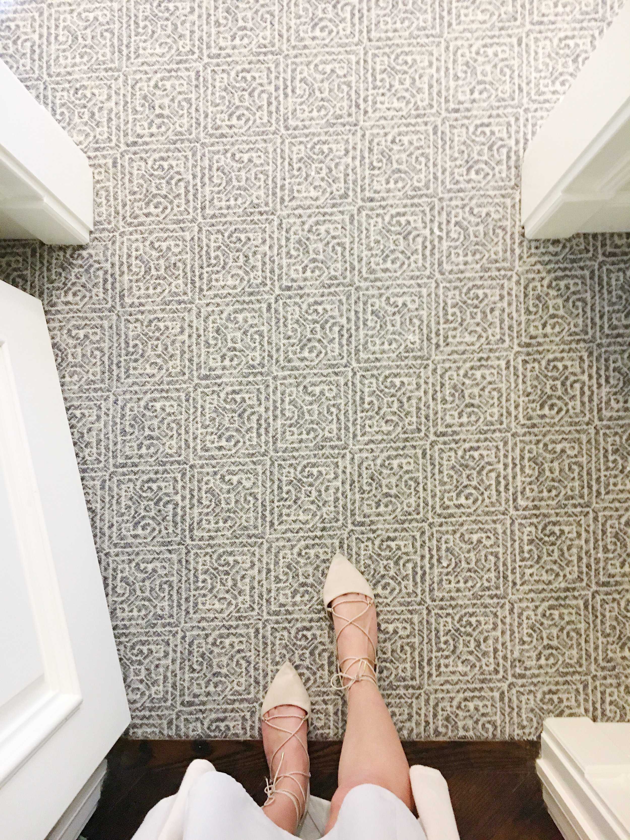 The beginning of our Master Suite renovation - We LOVE our STARK carpet!