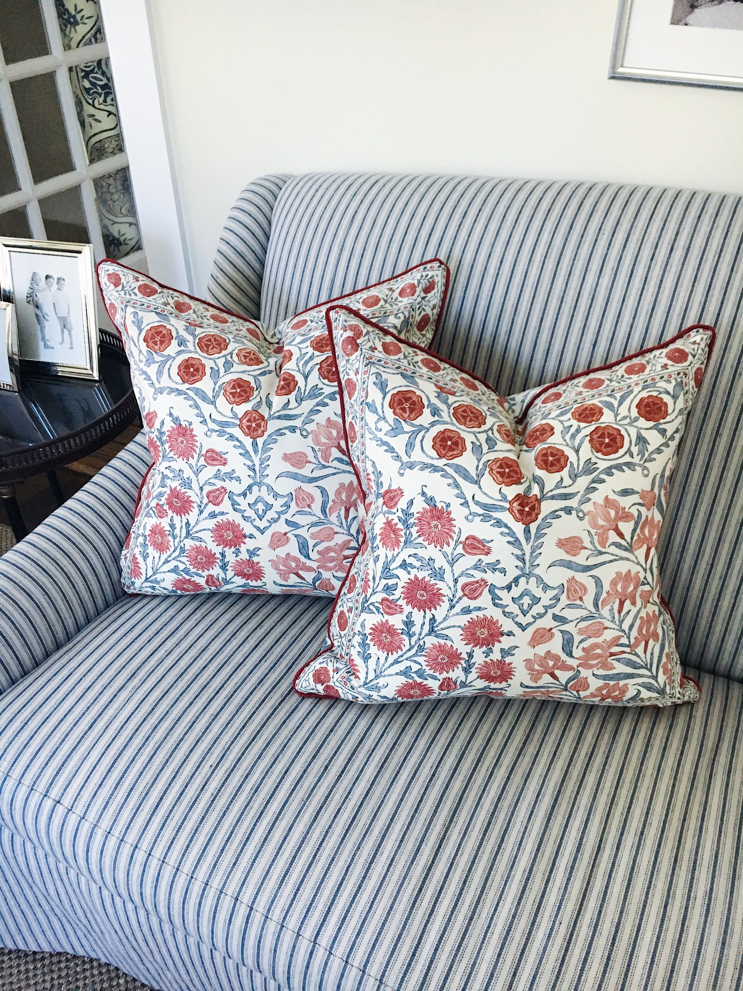 Some of the most gorgeous pillows we've designed to date!